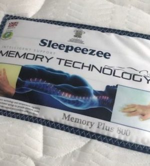 Sleepeezee Memory Plus 800 Mattress