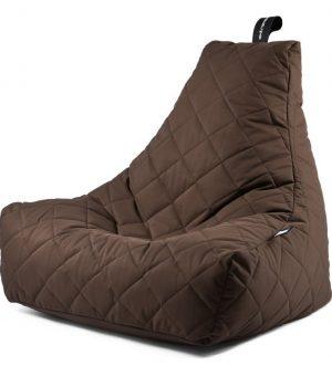 Indoor Outdoor B Bag Mighty (Brown Quilted)