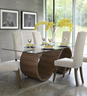 Swirl Dining Table by Tom Schneider