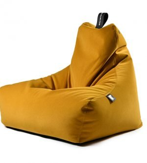 Mighty B Faux Suede Bean Bag in Mustard